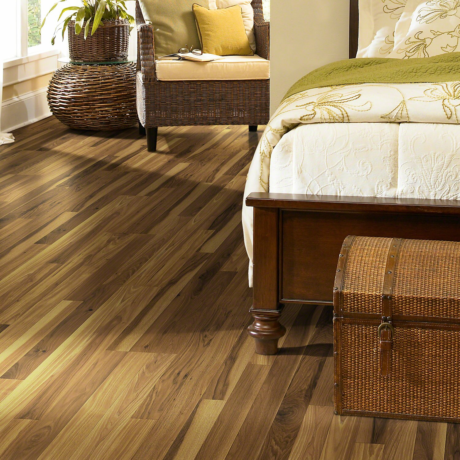 Hickory Laminate Flooring natural hickory mm thick x in wide x in length hickory laminate flooring Fairfax Hickory Laminate In Belle Haven