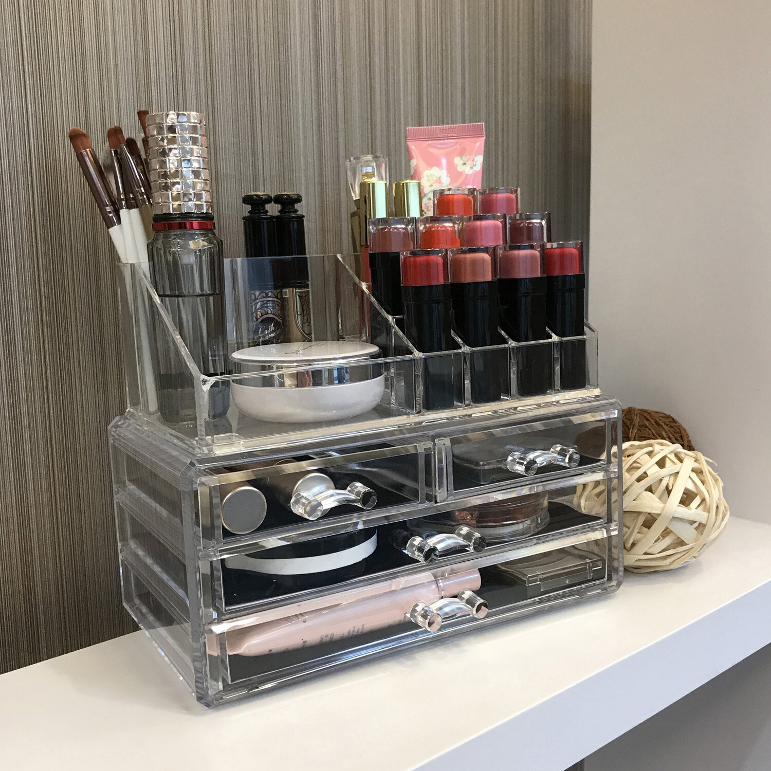 Rebrilliant Jewelry And Cosmetic Organizer Amp Reviews Wayfair