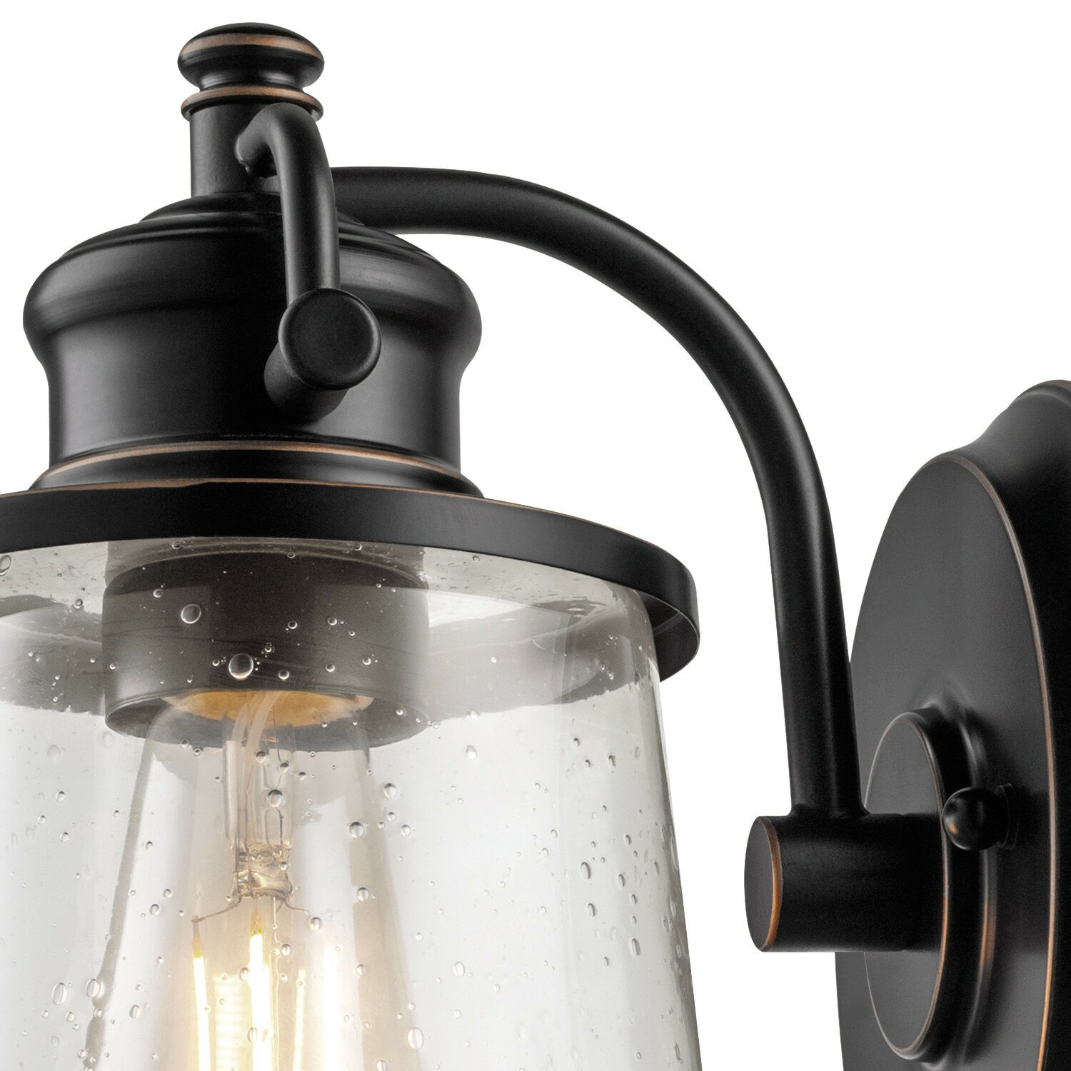 Outdoor Lighting Company: Globe Electric Company Charlie 1-Light Outdoor Wall Sconce