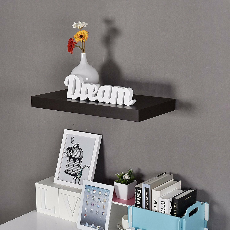 Welland industries llc houston 24 floating wall shelf for Abanos furniture industries decoration llc