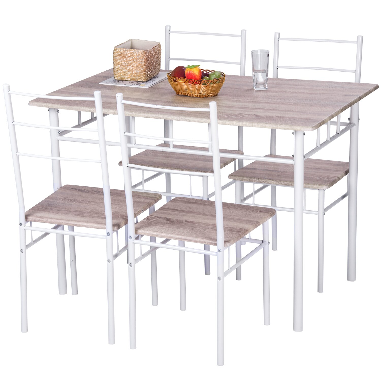 Merax 5 piece dining table set reviews for 13 piece dining table set