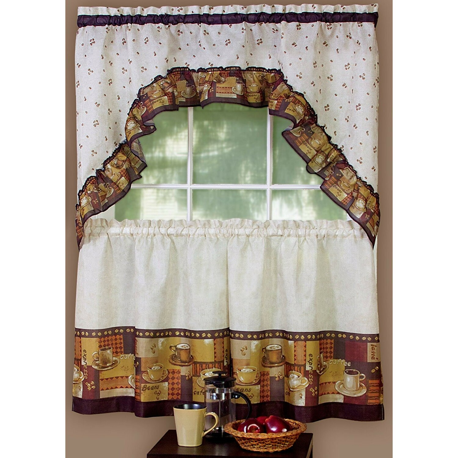 Cappuccino Curtains