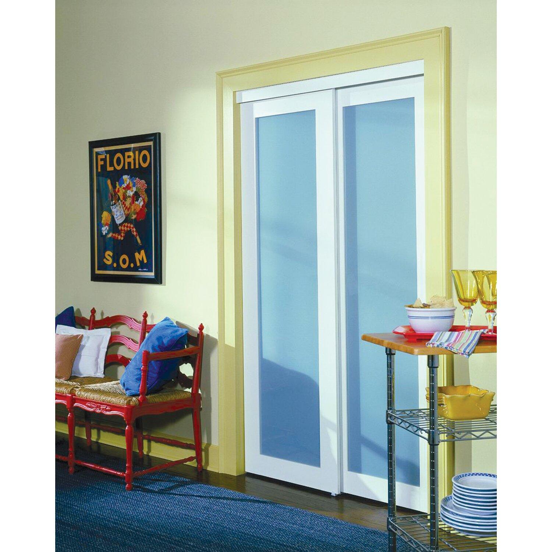 baldarassario mdf 2 panel painted sliding interior door - Erias Home Designs
