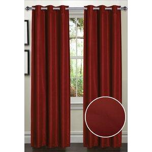 dot thermal blackout curtain panels set of 2