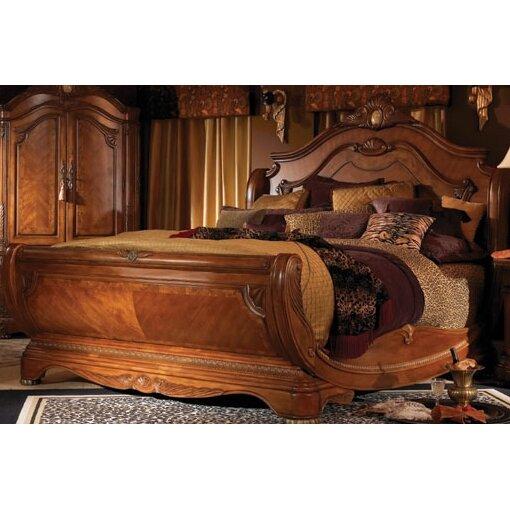 Michael Amini Cortina Panel Customizable Bedroom Set & Reviews ...