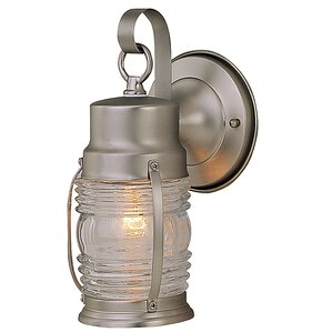 Nautical 1 Light Outdoor Sconce