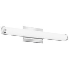 Cylinder 1-Light LED Bath Bar