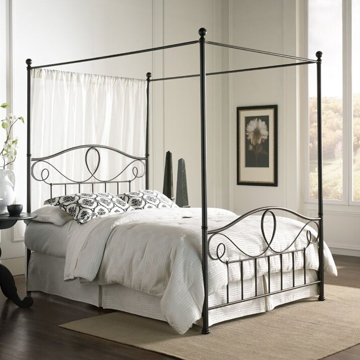 brewington canopy kit - Metal Canopy Bed Frame