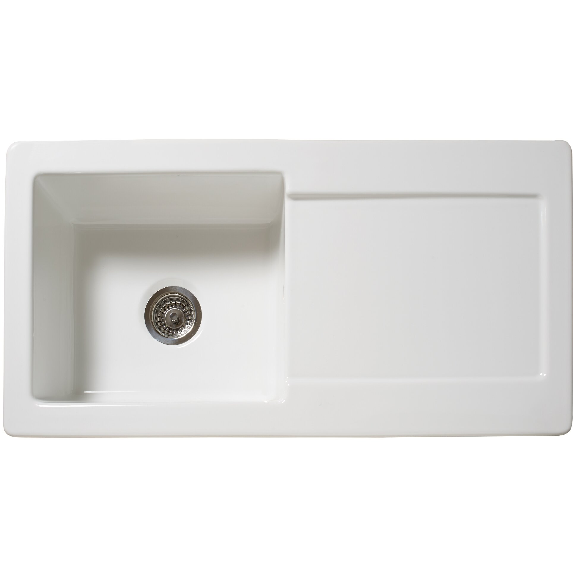 100cm x 50cm inset kitchen sink - Kitchen Sink Uk
