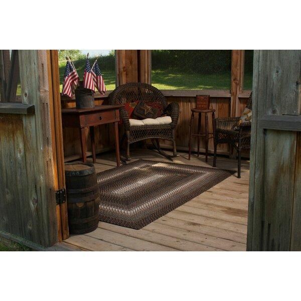 Homespice Decor Ultra-Durable Driftwood Indoor/Outdoor Rug ...