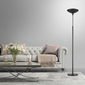 globe electric 709 led torchiere floor lamp