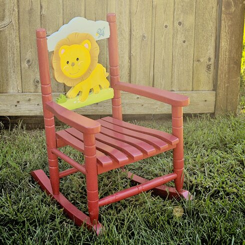 Fantasy Fields Animal Inspiration Kids Rocking Chair & Reviews ...