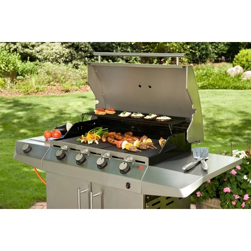 79cm Performance Gas Barbecue with Side Shelf