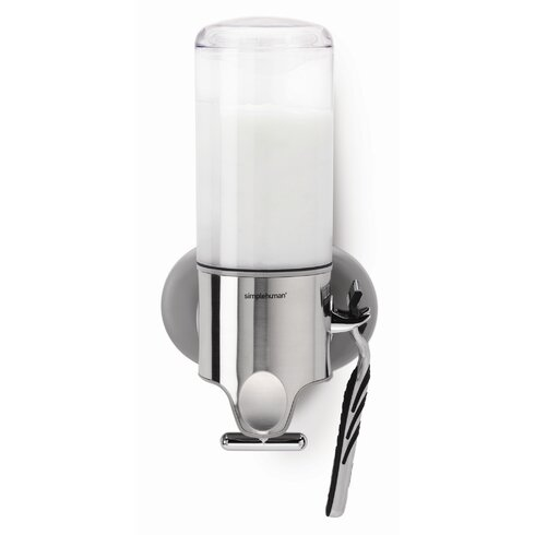 Plastic Adhesive Mount Soap Dispenser