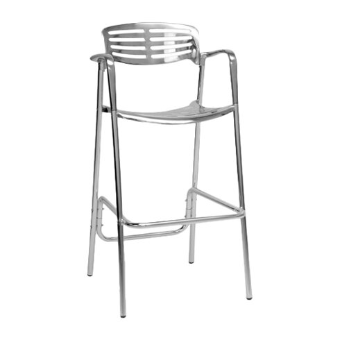 ... Wholesale Interiors Baxton Studio Ethan 31 75 Bar Stool WHI4659 Html On  Patio Home Interiors ...