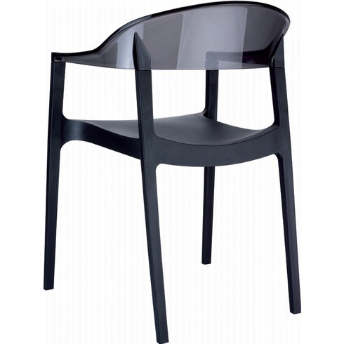 Carmen Stacking Dining Arm Chair