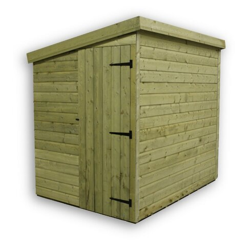 9 x 8 Wooden Lean-To Shed
