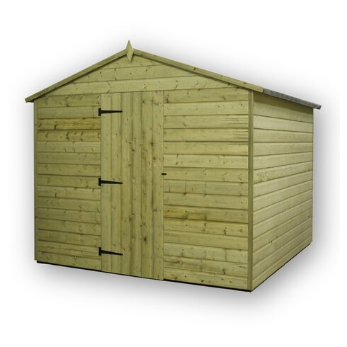 8 x 9 Wooden Storage Shed