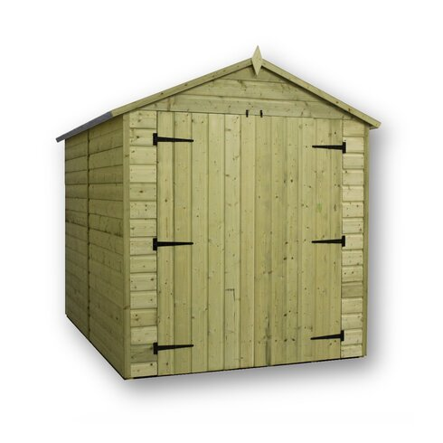 6 x 12 Wooden Storage Shed