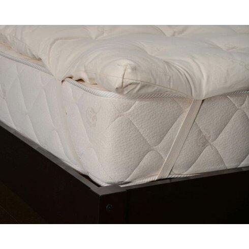 Bio Sleep Concept 1 5 Quot Organic Wool Mattress Pad Wayfair Ca