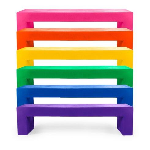 Vignelli Plastic Bench