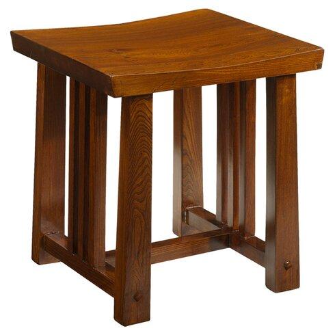 Jinrong Wood Dressing Table Stool