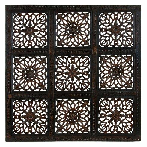 Woodland Imports Rustic Panel Wall D 233 Cor Amp Reviews Wayfair
