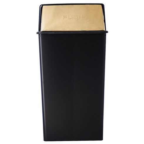 Monarch Series Swing Top Trash Can