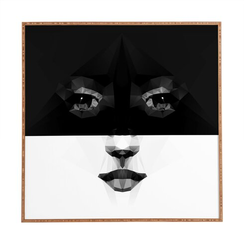 Luna by Three of Thee Possessed Framed Graphic Art