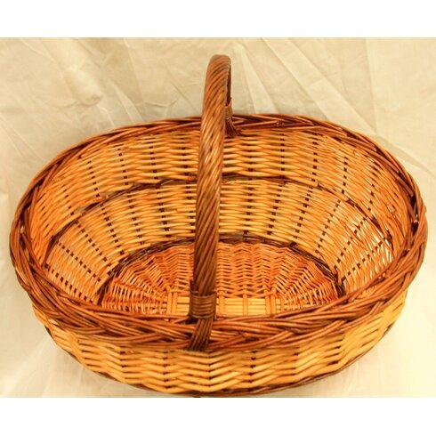 Big Belly Shopping Wicker Basket