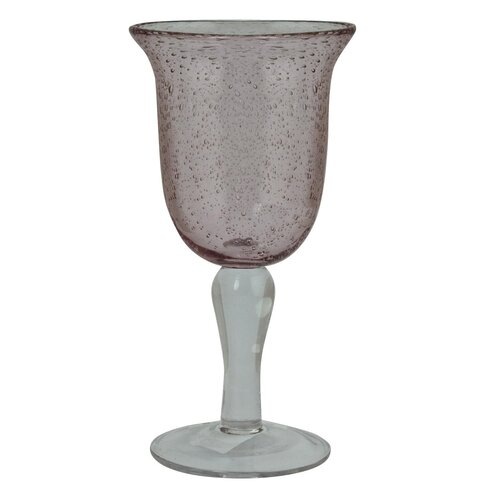 Diaphanous Wine Glass in Red