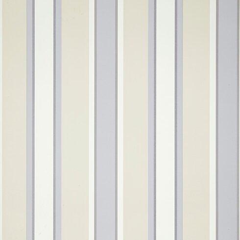 Aquitaine 10m L x 52cm W Stripe Roll Wallpaper