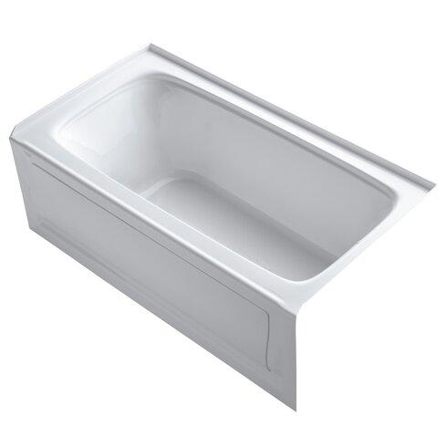 kohler bancroft 60 quot x 32 quot soaking bathtub reviews wayfair