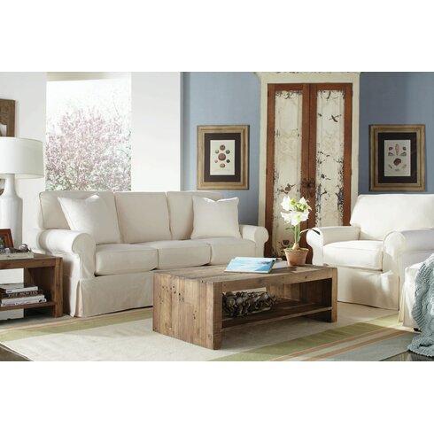 Rowe Furniture Nantucket Slipcovered Sleeper Sofa