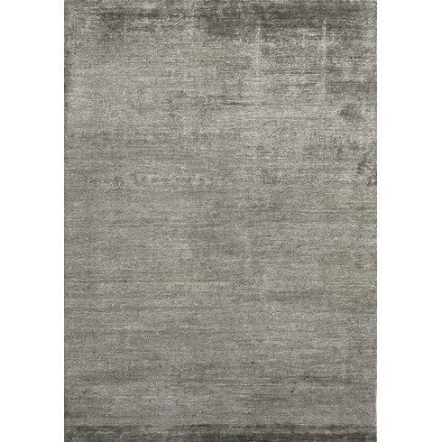 Silky Grey Area Rug