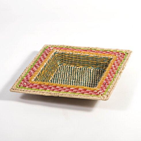 Zulu Square Seagrass Basket