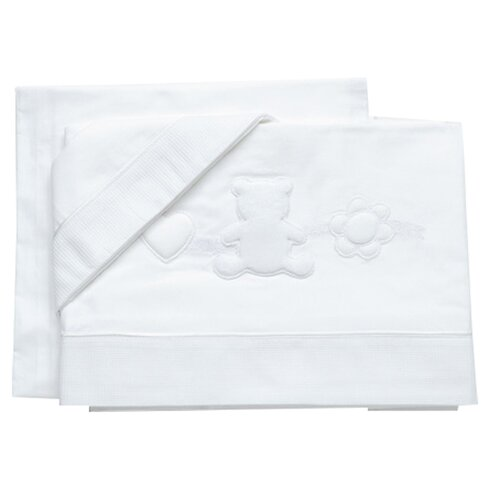 Armony Set of 2 Cot Sheets