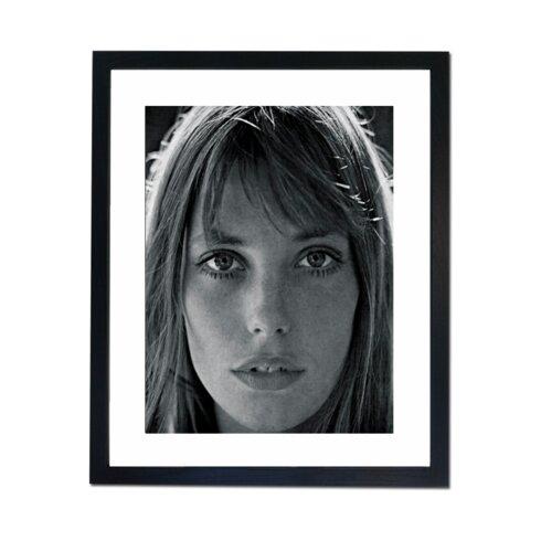 Jane Birkin - Portrait Framed Photographic Print