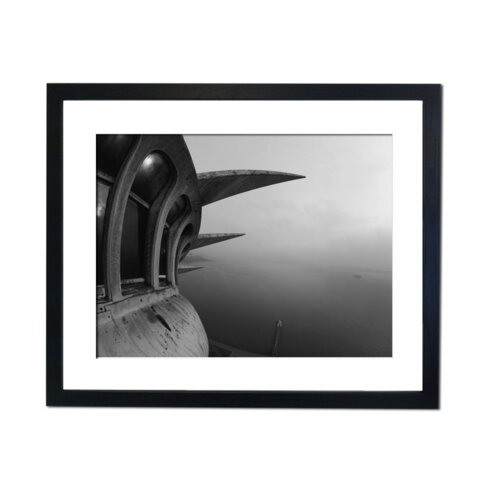 Statue of Liberty Dusk Framed Photographic Print