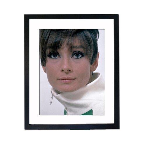 Audrey Hepburn - Portrait Framed Photographic Print