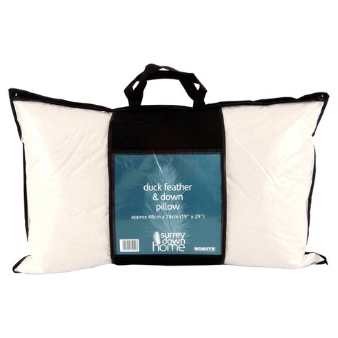 Home Range Duck Feather and Down Pillow