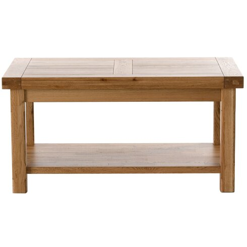 Windermere Coffee Table with Magazine Rack
