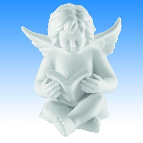 Dekorationsfigur Engel mit Buch Zeit für Engel