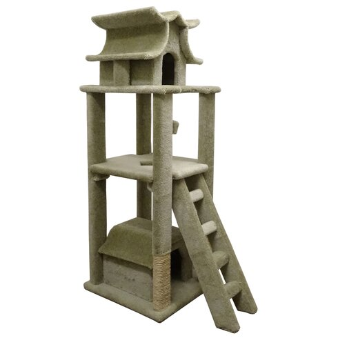 New Cat Condos 67 Premier Designer Cat Tree  Reviews  Wayfair