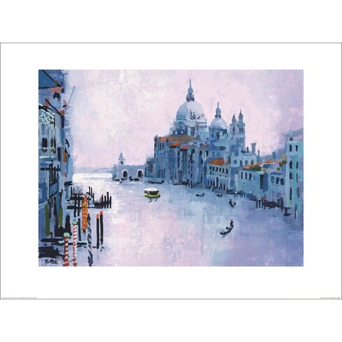 Grand Canal, Venice by Colin Ruffell Art Print