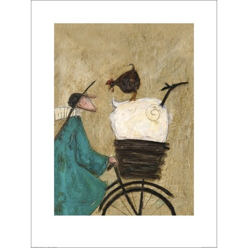 Taking the Girls Home by Sam Toft Art Print
