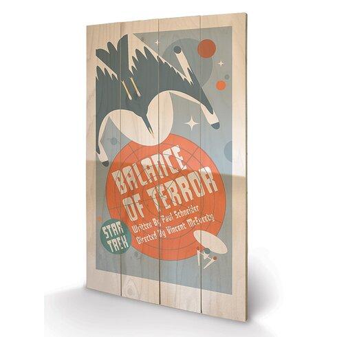Balance of Terror by Star Trek Vintage Advertisement Plaque