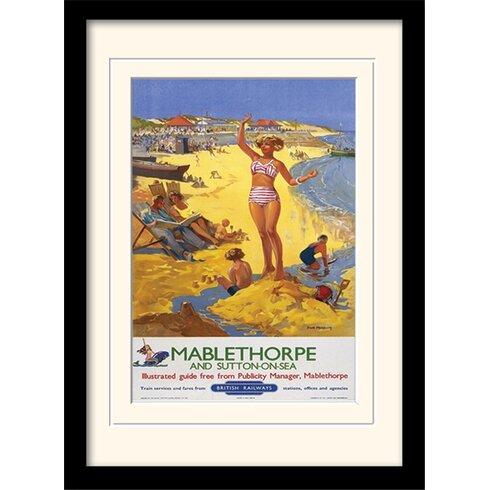 Mablethorpe Mounted Framed Vintage Advertisement