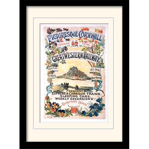 Cornwall #7 Framed Vintage Advertisement