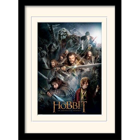 The Dark Montage - The Hobbit Framed Vintage Advertisement